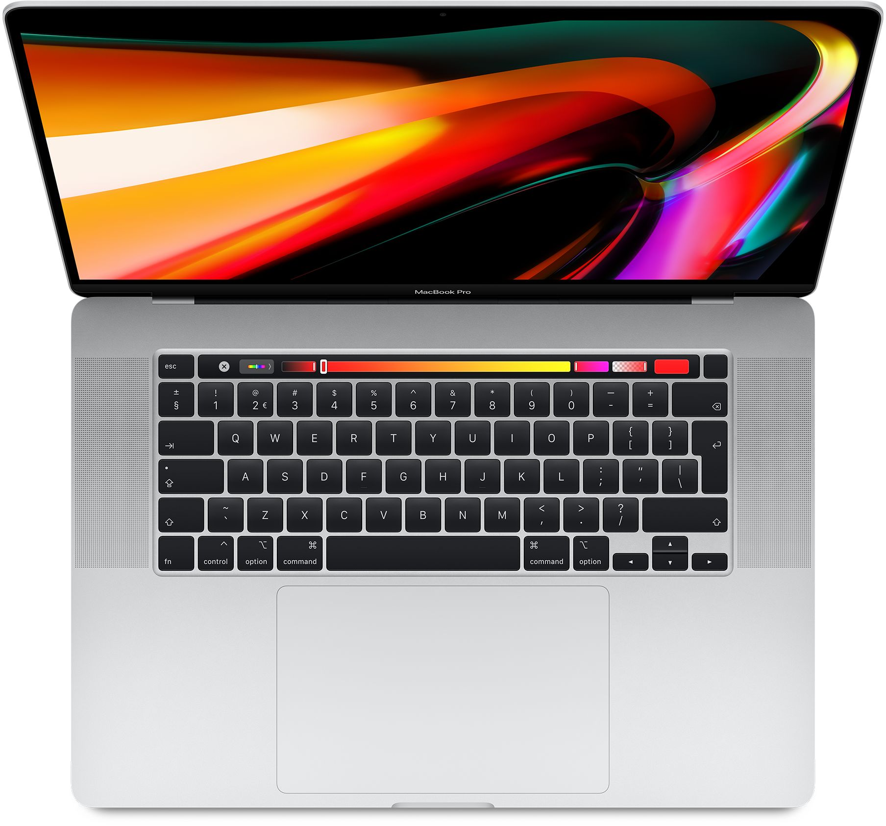16-inch MacBook Pro: 2,6‑GHz 6‑core i7 processor - 512 GB SSD - 16 GB RAM - AMD Radeon Pro 5300M - Zilver (Nieuw)