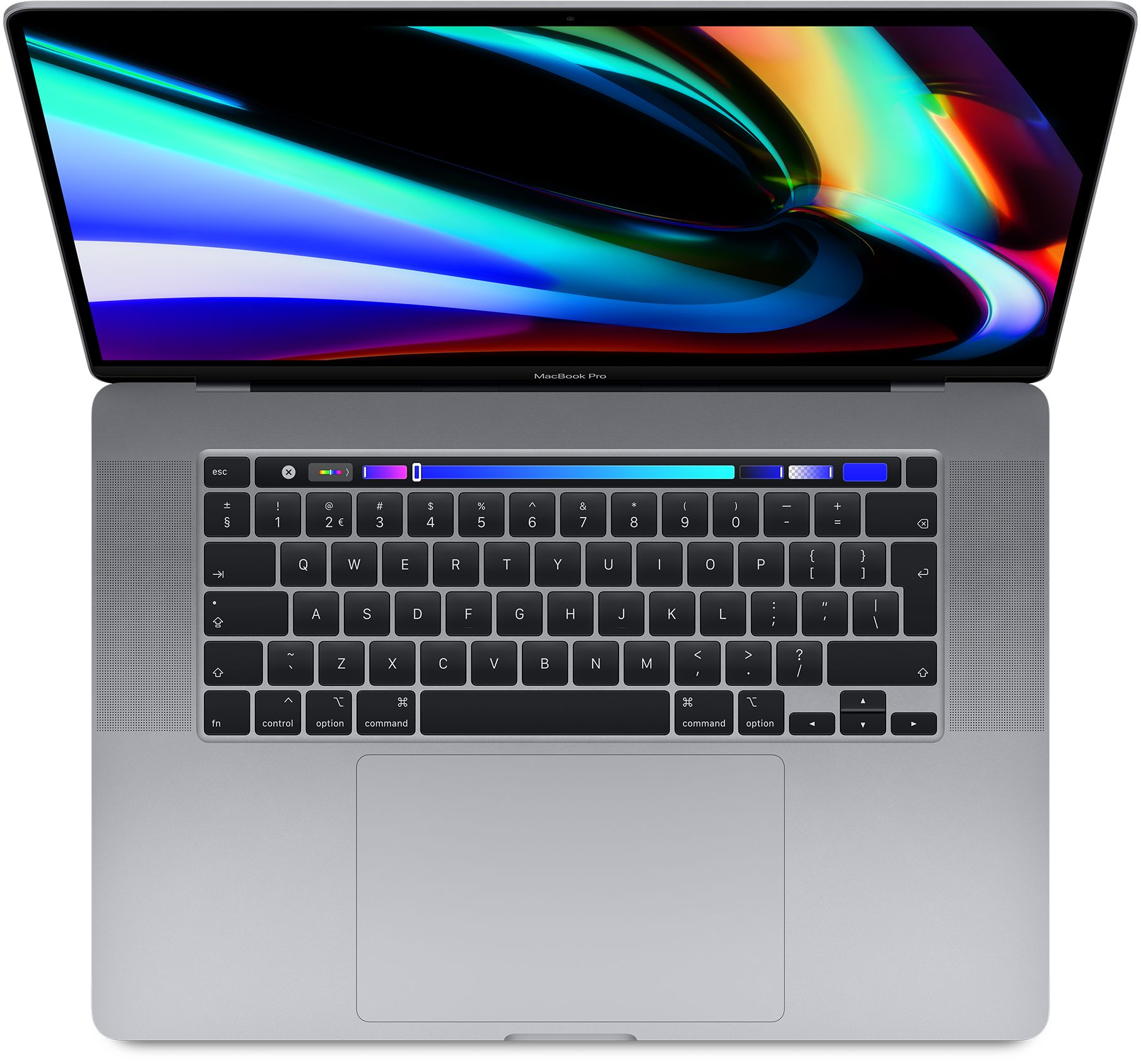 16-inch MacBook Pro: 2,6‑GHz 6‑core i7-processor - 512 GB SSD - 16 GB RAM - AMD Radeon Pro 5300M - Spacegrijs (Nieuw)