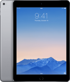 iPad Air 2 - 64 GB - (Wi-Fi + Cellular) - Spacegrijs (★★★★☆)