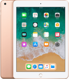 iPad (6th generation) - 32 GB - (Wi-Fi) - Goud (★★★★★)