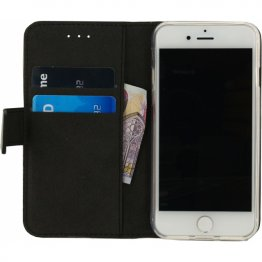 Mobilize Classic Gelly Wallet Book Case Black (iPhone SE 2020)
