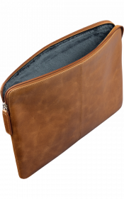 "Dbramante1928 Skagen Pro - Full Grain Leather Sleeve For 15"" Laptop/MacBook Pro 16"" - Tan"