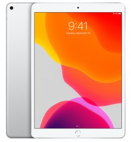 iPad (10.2-inch) (8th generation) - 128 GB - (Wi-Fi + Cellular) - Zilver (Nieuw)
