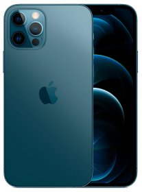 iPhone 12 Pro Max: 128 GB - Oceaanblauw