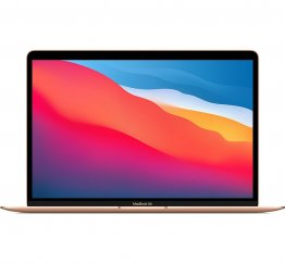 13-inch MacBook Air - Goud - Apple M1‑chip met 8‑core CPU en 7‑core GPU - Twee (USB‑C) Thunderbolt 3‑poorten