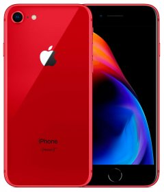 iPhone 8 - 64 GB - (PRODUCT) Red (★★★★☆)