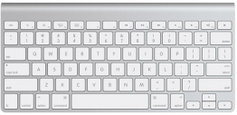 Particuliere inruil Wireless Keyboard Aluminium