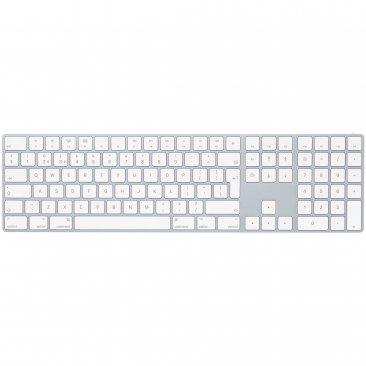 Apple Magic Keyboard met numeriek toetsenblok - Nederlands - Zilver